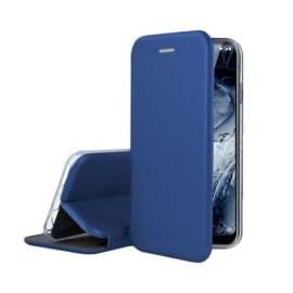 OEM Smart Magnet Elegance Book Case for Apple iPhone X / XS - Color: Dark Blue