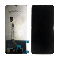 LCD screen with Touch Mechanism for Xiaomi Redmi Note 8 - Color: Black