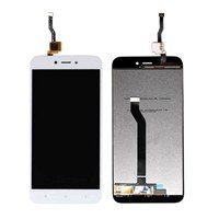 LCD screen with Touch Mechanism for Xiaomi Redmi 5A - Color: White