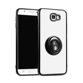Fingertip Gyroscope 2 In 1 Gyro Bracket Back Case for Apple iPhone X / XS - Color: Black