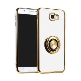 Fingertip Gyroscope 2 In 1 Gyro Bracket Back Case for Apple iPhone X / XS - Color: Gold