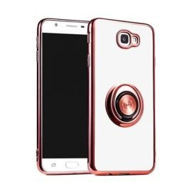 Fingertip Gyroscope 2 In 1 Gyro Bracket Back Case for Apple iPhone X / XS - Color: Gold Pink