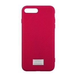Molan Cano Jelline Bumper Back Case for Apple iPhone 7 Plus / 8 Plus - Color: Fuchsia