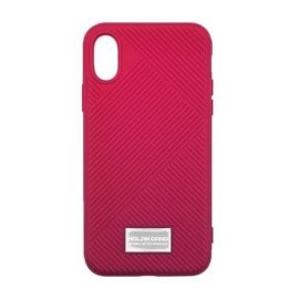 Molan Cano Jelline Bumper Back Case for Apple iPhone X / XS - Color: Fuchsia