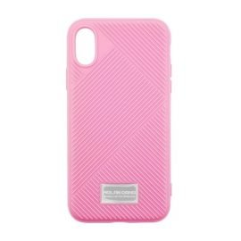 Molan Cano Jelline Bumper Back Case for Apple iPhone X / XS - Color: Pink