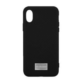 Molan Cano Jelline Bumper Back Case for Apple iPhone X / XS - Color: Black