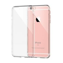 Silicone Back Case for Apple iPhone 6 / 6S - Color: Transparent