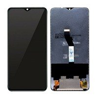 LCD screen with Touch Mechanism for Xiaomi Redmi Note 8 Pro - Color: Black