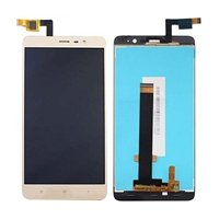 LCD screen with Touch Mechanism for Xiaomi Redmi Note 3 - Color: Gold