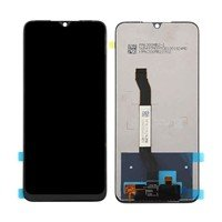 LCD screen with Touch Mechanism for Xiaomi Redmi Note 8T - Color: Black