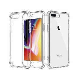 Silicone Case 360 ​​Full Protection for Apple iPhone 8 Plus - Color: Black