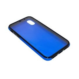 360 Full protective case for iPhone X - Color: Blue