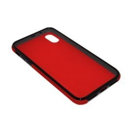 360 Full protective case for iPhone X - Color: Red