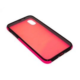 360 Full protective case for iPhone X - Color: Pink