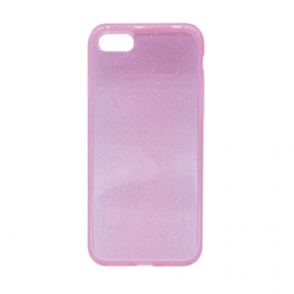 Glittering Silicone Back Case for Apple iPhone 7/8 - Color: Pink