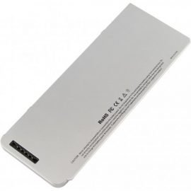 Laptop Battery - Battery for Apple A1280 A1278 (2008 Version) MacBook 13-Inch Series, Compabiel for MB771G / A MB467LL / A MB466LL / A10.8V 5200mAh 56Wh Silvery Gray OEM high quality - high quality (Code-1-BAT0212)