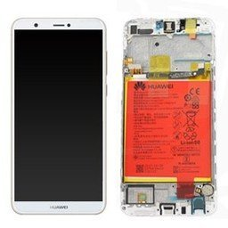 A+ LCD & Frame Huawei Ascend P Smart White 02351SVE