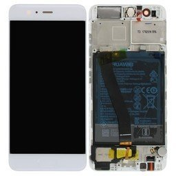 A+ LCD & Frame Huawei incl Battery P10 Silver White 02351DQN