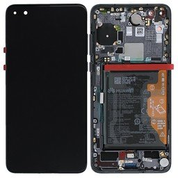 A+ LCD & Frame Huawei incl Battery P40 Black 02353MFA