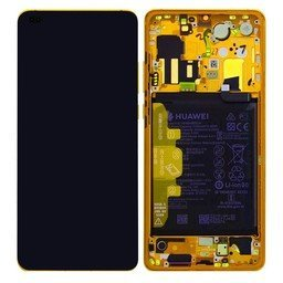 A+ LCD & Frame Huawei incl Battery P40 Gold 02353MFV