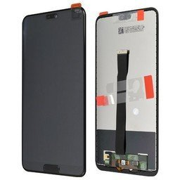 A+ LCD Huawei Ascend P20 Black - 02351WKF