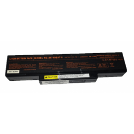 Laptop Battery - Battery for Turbo-x CLEVO MS1637 MS163D MS1651 MS1652 MS1721 OEM high quality - High quality
