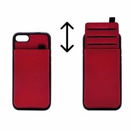Card Case Silicone Mo Si Deng For I-Phone SE 2nd