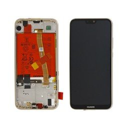 LCD / Frame & Battery Huawei Ascend P20 Lite 02351WRN Gold