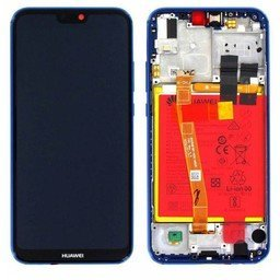 LCD / Frame & Battery Huawei Ascend P20 Lite Blue-02351VUV