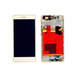 LCD / Frame & Battery Huawei Ascend P9 Lite Gold-02350TMS