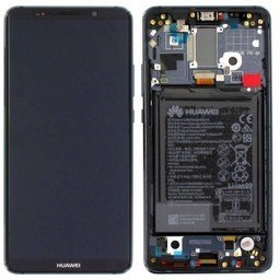 LCD + Frame & Battery Huawei Mate 10 Pro Black 02351RVN