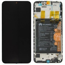 LCD + Frame & Battery Huawei P Smart 2019 Black 02352JEY