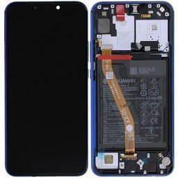 LCD + Frame & Battery Huawei P Smart Plus Purple 02352BUH