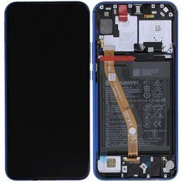 LCD + Frame & Battery Huawei P Smart Z Blue 02352RXU