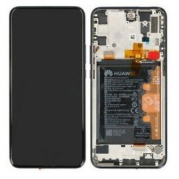 LCD + Frame & Battery Huawei P Smart Z Green 02352RXT
