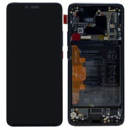 LCD & Frame Huawei Ascend Mate 20 Pro Black P4-02352FRL