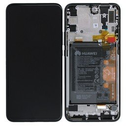 LCD + Frame incl Battery Huawei P Smart Z Black 02352RRF