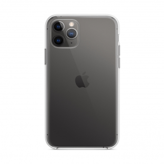 Apple Clear Case Back Cover Σιλικόνης Διάφανο (iPhone 11)