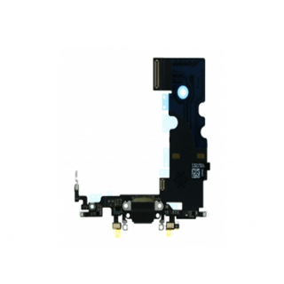 Charging Port Flex Cable for iPhone 7 White Original