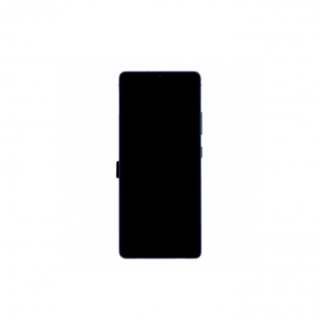 Screen Replacement With Frame for Samsung Galaxy M51 Black